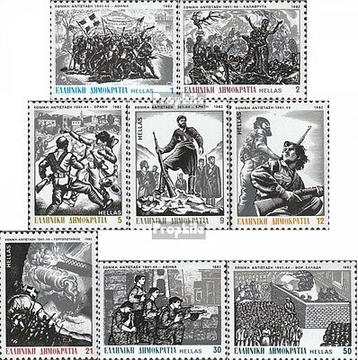 Greece 1495-1502 (complete issue) unmounted mint / never hinged 1982 Resistance
