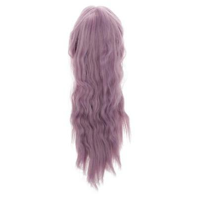 1/6 Long Dreamy Middle Part Curly Hair Wig Hairpiece for 12'' Blythe Doll #7