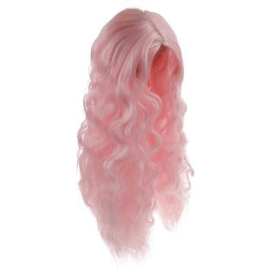 1/6 Long Dreamy Middle Part Curly Hair Wig Hairpiece for 12'' Blythe Doll #5