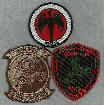 3 Different US Navy / US Marine Corps Aviation Patches #4