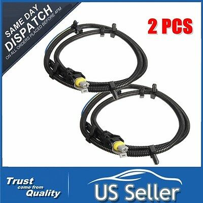 2pcs abs wheel speed sensor wire harness plug for chevrolet buick 2x abs wheel speed sensor wire harness plug pigtail for buick chevy gm 10340314