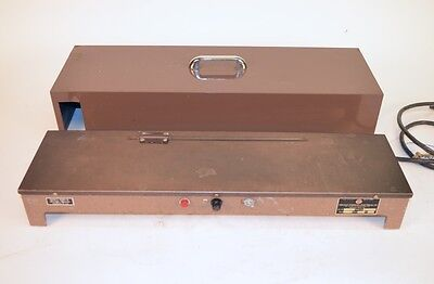 Chicago Surgical & Electrical Slide Warmer 26000 w/ Lid Brown