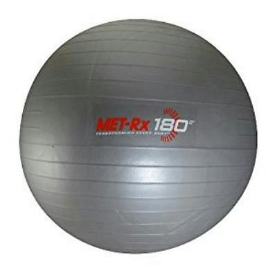"""NEW Fitness Gray 24"""" Exercise Ball with Pump $25"""