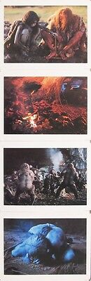 QUEST FOR FIRE set of 8 portfolio of deluxe photographs ERNST HAAS 1981