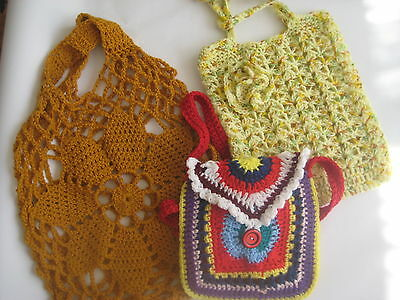 Handcrafted Crochet Bags