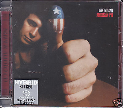 """""""Don McLean - American Pie"""" Japan Limited Numbered Hybrid Stereo DSD SACD CD New"""