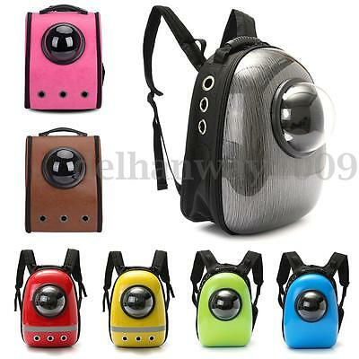 22 Types Breathable Astronaut Capsule Dog Cat Pet Backpack Carrier Travel Bag