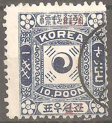 Korea Old Issues Surcharged China Offices In Korea 2 Scans Fine Condition