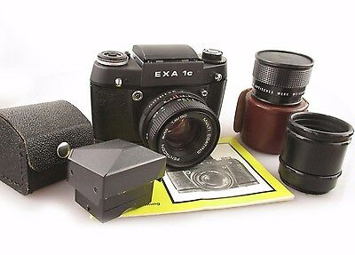 M42 CAMERA SET EXA 1C mit Pentacon 1,8 50mm