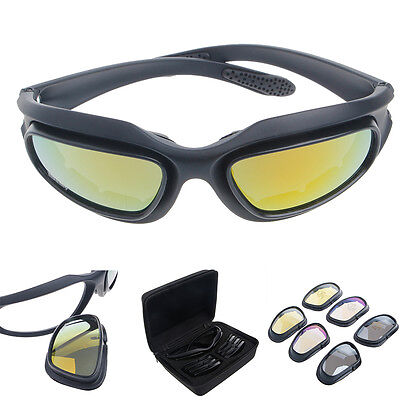 Outdoor Windproof Skiing Riding Glasses Motorcycle Cycling Goggles Snow Eyewear