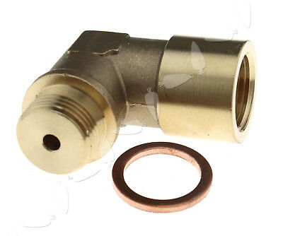 O2 Oxygen Sensor Angled Extender Spacer Extension M18 X 1.5 90 Degree