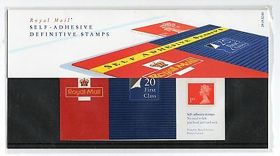 GB 1993 Machin 1st x 20 Booklet Definitive Presentation Pack No. 29 VGC stamps