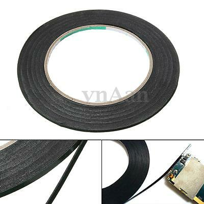 10M 0.5mm Thick Phone Screen Dust-proof Double Side Adhesive Sponge Foam Tape
