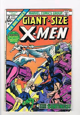 Giant-Size X-Men # 2  Neal Adams Sentinels grade 5.0  scarce hot book !!