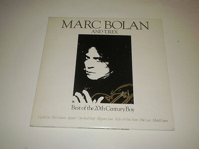 MARC BOLAN AND T-REX - Best Of The 20th Century Boy - 2 LP GATEFOLD K- TEL UK