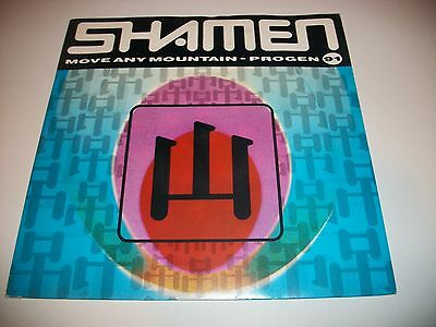 "The Shamen- Move Any Mountain 7"" Vinyl 45Rpm Ps"