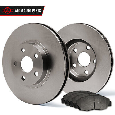 2013 2014 2015 Ford Taurus Non SHO (OE Replacement) Rotors Metallic Pads R