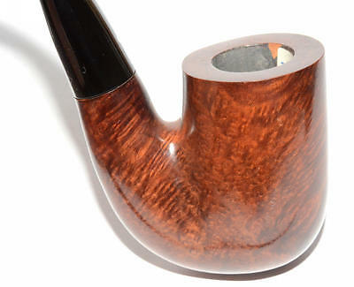 "NEW !! 1970's VAUEN LUXUS WHITE DOT QUALITY OOM PAUL ""HUNGARIAN"" BENT 9MM PIPE"