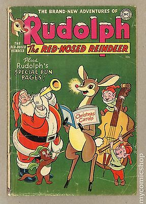 Rudolph the Red Nosed Reindeer (1950) #1954 GD+ 2.5