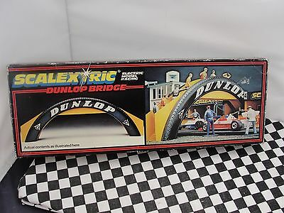Scalextric Dunlop Bridge   C700  1.32  Scale  Used Boxed