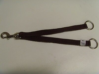 New Libbys Webbing Running Martingale Attachment, Cob size,  Brown