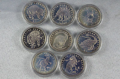 1993 Preserve Planet Earth $1 Coins Lot of 8