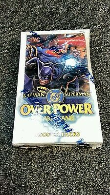 Overpower Card Game Batman Superman SEALED booster box