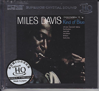 """""""Miles Davis - Kind Of Blue"""" Japan UHQCD HQCD Audiophile CD Limited Numbered New"""