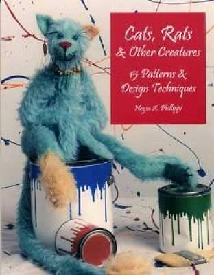 Cat Rat Pig Toy Doll How-To Pattern book 15 Patterns