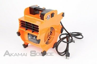 Portable Industrial Fan Blower Carpet Dryer Air Mover Light Construction Tools