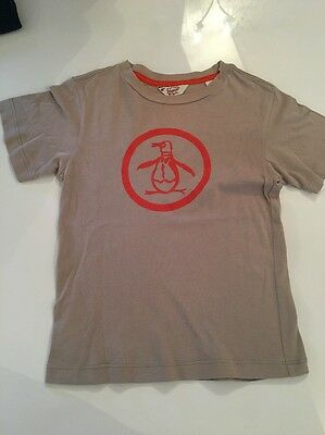 Boys T-shirt By Penguin Age 4