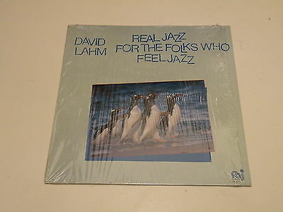 DAVID LAHM - Real Jazz For The Folks Who Feel Jazz - LP 1982 PALO ALTO ITALY -