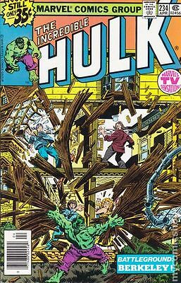 Incredible Hulk (1962-1999 1st Series) #234 FN 6.0