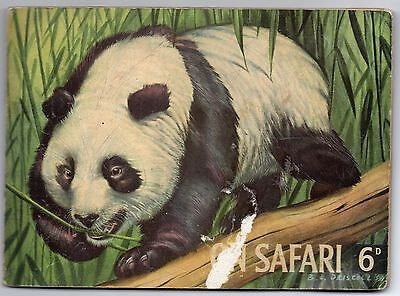 Hornimans On Safari 1958. 45 cards from set of 48 mounted in album
