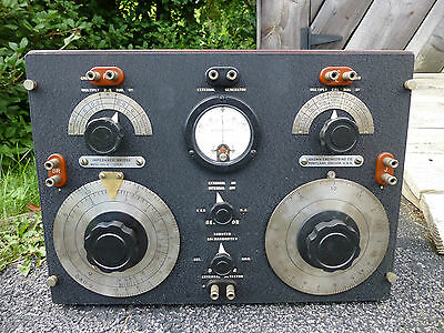 Vintage Brown Engineering Co. Impedance Bridge Model 200-A