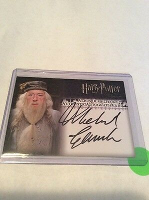 2007 Artbox Harry Potter TOOTP Autograph for Gambon