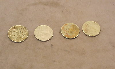 FOUR COINS from TURKEY  1996, 1997 & 1999