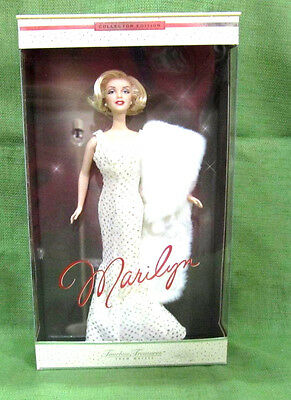 Never Opened Collector Edition Timeless Treasures Marilyn Doll Model #53873