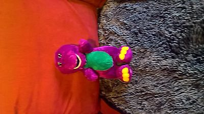 this is a fab barney soft toy that is looking for a new home