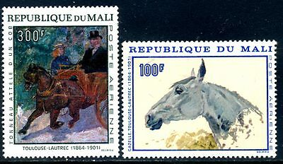 Mali 1967 Toulouse-Lautrec paintings  (MNH)