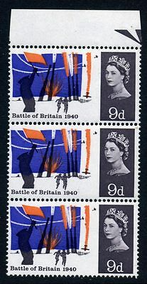 1965 Battle of Britain 9d positional variety 3/3