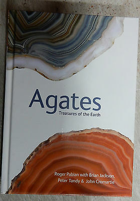 """""""Agates"""" - book by Roger Pabian, w/Brian Jackson, Peter Tandy, & John Cromartie"""