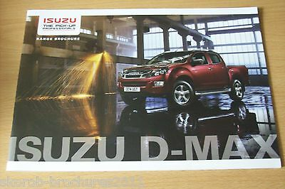 ISUZU - The D-MAX Sales Brochure 2014
