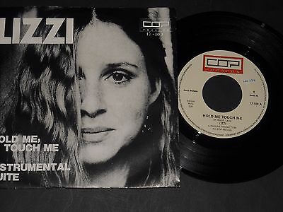 """Vinyl Single 7"""" LIZZI Hold Me, Touch Me"""