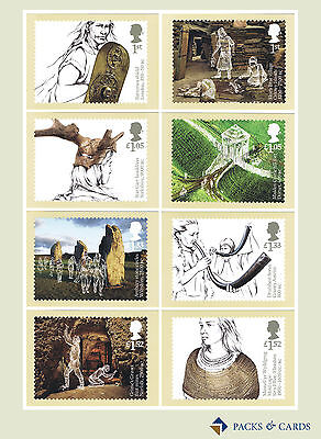 2017 Ancient Britain PHQ 424 - Mint Cards (Set of 8 Royal Mail Postcards)