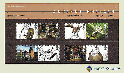 2017 Ancient Britain Stamps in Presentation Pack PP508 (no.536)