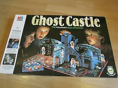 GHOST CASTLE The Haunted House of Horrors Action Board Game