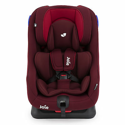 Joie Merlot Red Steadi Group 0+/1 Car Seat Reclining 2 Way Facing Baby Carseat