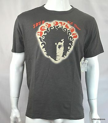 Lucky Brand for Bob Dylan Men T shirt S Graphic tee Short Sleeve Black NEW NWT