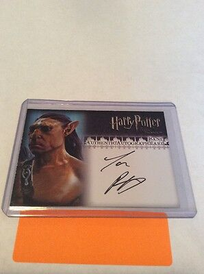 2007 Artbox Harry Potter TOOTP Update Autograph for Piper